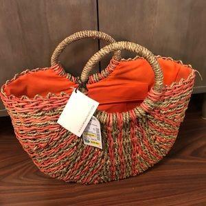 BNWT straw bag